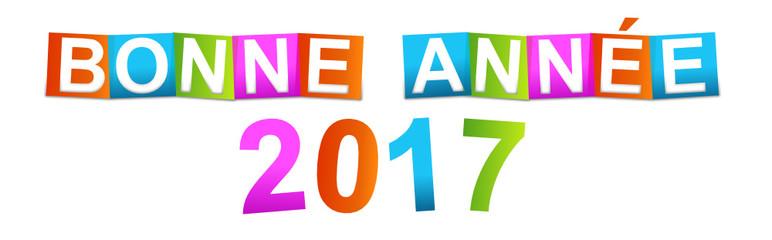 bonne année 2017
